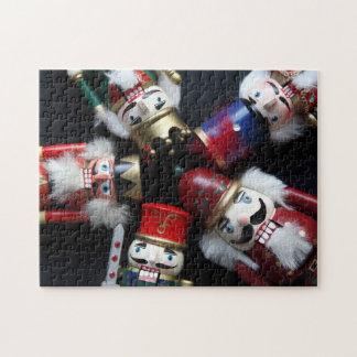 Nutcrackers heads together jigsaw puzzle