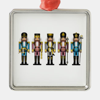 Nutcrackers in Transgender Colors Christmas Ornament