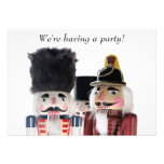 nutcrackers invitation we're having a party