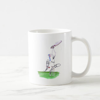 nutmeg - cricket, tony fernandes coffee mug