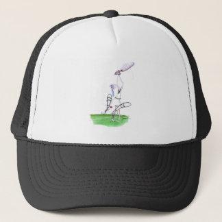 nutmeg - cricket, tony fernandes trucker hat