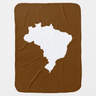 Nutmeg Festive Brazil at Emporio Moffa Baby Blankets