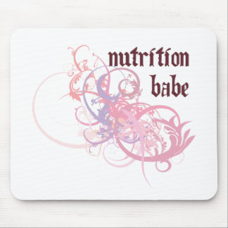 Nutrition Babe Mouse Pad