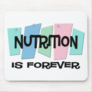 Nutrition Is Forever Mouse Mat