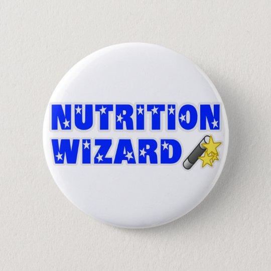 Nutrition Wizard 6 Cm Round Badge