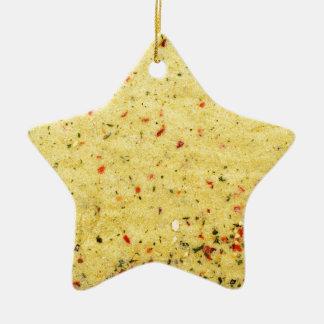 Nutritional Flavor Enhancer texture Christmas Ornament