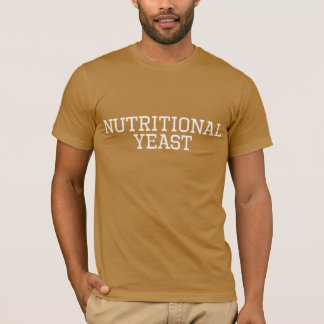 Nutritional Yeast Collegiate Shirt Vegan Food