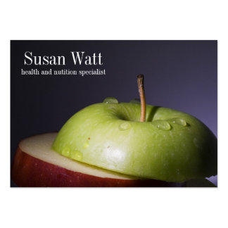 Nutritionist Sliced Apple Business Card