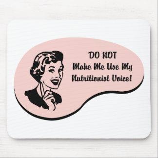 Nutritionist Voice Mouse Pad
