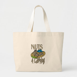 Nuts 4 Camping Tote Bag