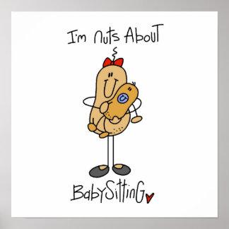 Babysitting Posters Zazzle Co Uk