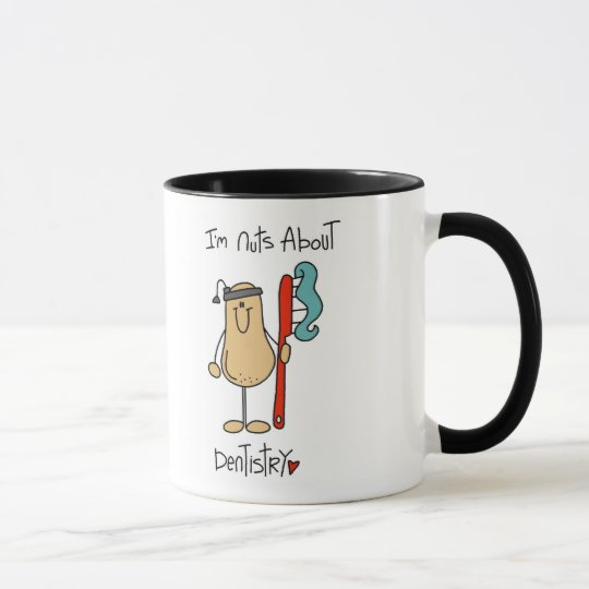 Nuts About Dentistry Mug