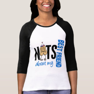 Nuts About My Best Friend 1 Blue T-Shirt
