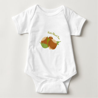 Nuts About You Baby Bodysuit