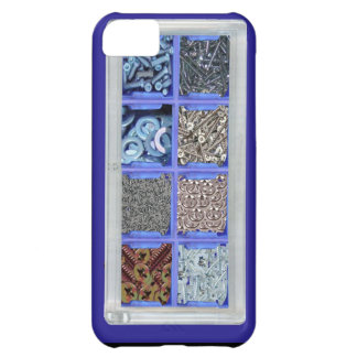 Nuts and bolts iPhone 5C case