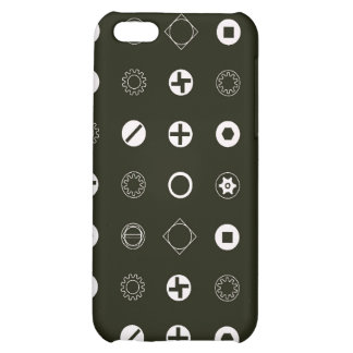 Nuts and Bolts Cover For iPhone 5C