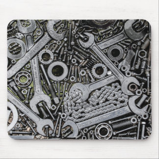 Nuts and Bolts Mouse Pad