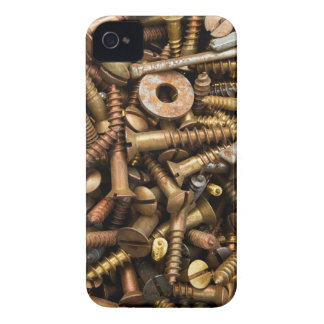 Nuts & Bolts background iPhone 4/s case iPhone 4 Case-Mate Cases