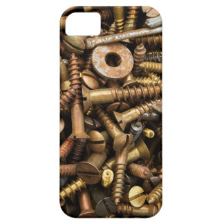 Nuts & Bolts background iPhone 5 case