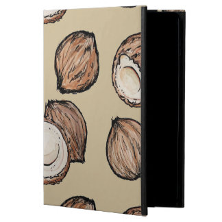 Nuts for Coconut Pattern iPad Air Covers