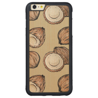 Nuts for Coconut Pattern iPhone 6 Plus Case