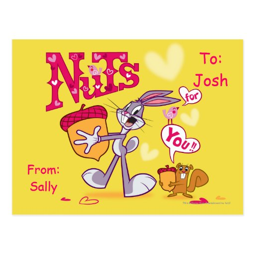 Nuts For You Post Cards