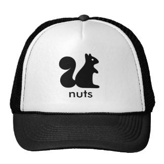 Nuts Squirrel Cap