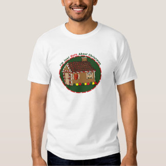 Nutty Gingerbread House Shirts
