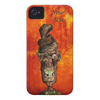 Nutty Hat Zombie Halloween Case Case-Mate iPhone 4 Case