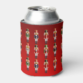 Nutty Nutcrackers Army Can Cooler