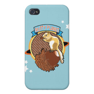 Nutty planet iPhone 4/4S covers