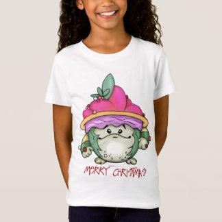 NUTTY PUFF CHRISTMAS CARTOON Babydoll T-Shirt