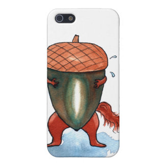 Nutty Squirrel iPhone 5 Covers