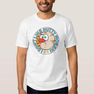 Nutty Women Grumpy T Shirt