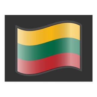 Nuvola Lithuanian, Lithuania Postcard