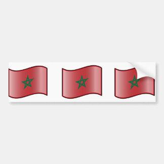 Nuvola Moroccan, Morocco Bumper Sticker