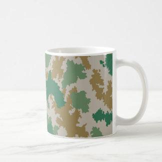 NVA surface-camouflage (mark-camouflage/flower-cam Basic White Mug