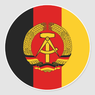 NVA vehicle markings Classic Round Sticker