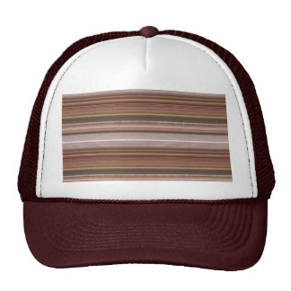 NVN15  JoshiNAVIN Brown Sparkle Graphic Pattern Mesh Hats