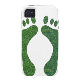 NVN36 navinJOSHI Green FOOTprint EarthDay Warming iPhone 4/4S Cases