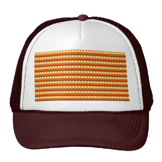NVN3 Orange Golden Triangle Energy Art  NavinJOSHI Hat