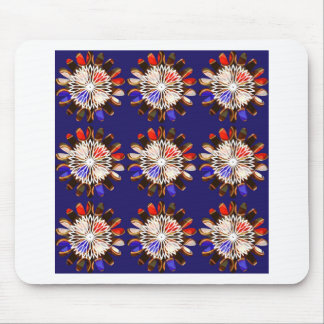NVN6 Elegant BLUE Sunflower Sun CHAKRA NavinJOSHI Mouse Pad