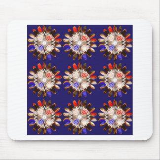 NVN6 Elegant BLUE Sunflower Sun CHAKRA NavinJOSHI Mousepad