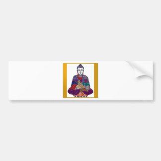 NVN723 Chakra Yoga Meditation Masters Practic GIFT Bumper Sticker