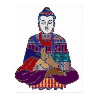 NVN723 Chakra Yoga Meditation Masters Practic GIFT Postcard