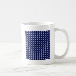 NVN8 NavinJOSHI Blue SQUARED art Coffee Mug