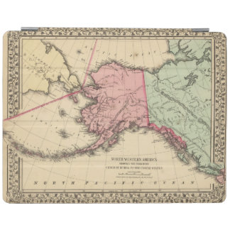 NW America Map by Mitchell iPad Cover
