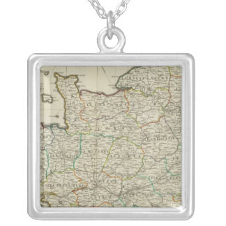 NW France Silver Plated Necklace