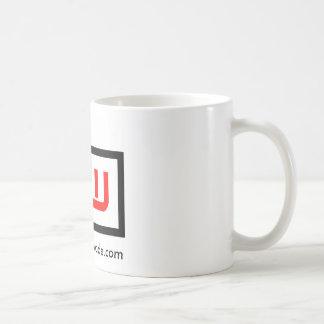NW Square Basic White Mug