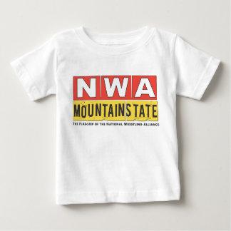 NWA Mountain State Logo Baby Tee